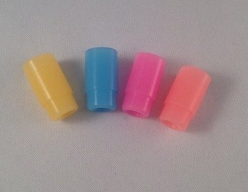 Plastic soft driptip glow in the dark