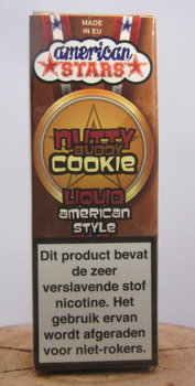 Nutty Buddy cookie - American Stars