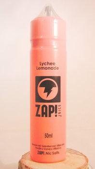 Zap! Lychee Lemonade 50ml