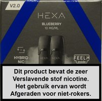 Hexa 2.0 pods - Blueberry