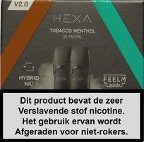Hexa 2.0 pods - Tabacco Menthol