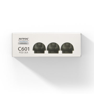 Justfog C601 pod (3st.)