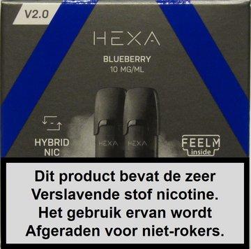Hexa 2.0 pods - Blueberry
