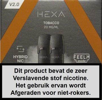 Hexa 2.0 pods - Tabacco